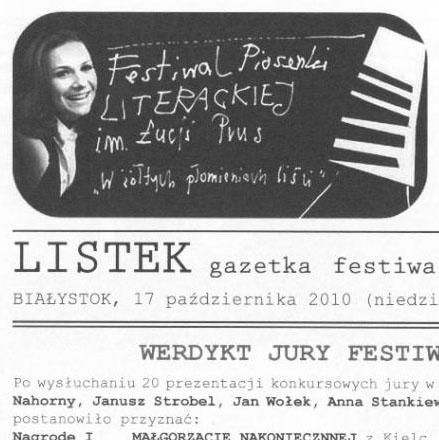 Gazeta festiwalowa